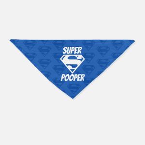 Super Pooper Bandana - Blue
